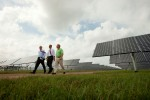 Solar Efficency - US President Barak Obama at the DeSoto Next Generation Solar Energy Center